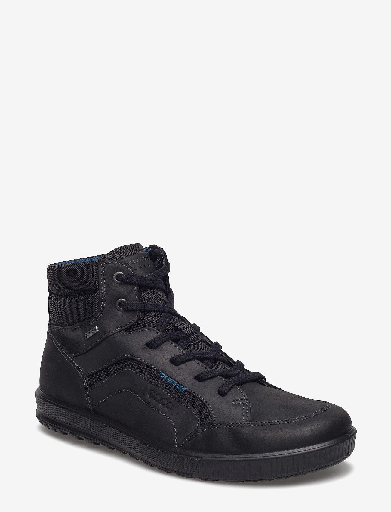 ECCO - ENNIO - höga sneakers - black/black - 0