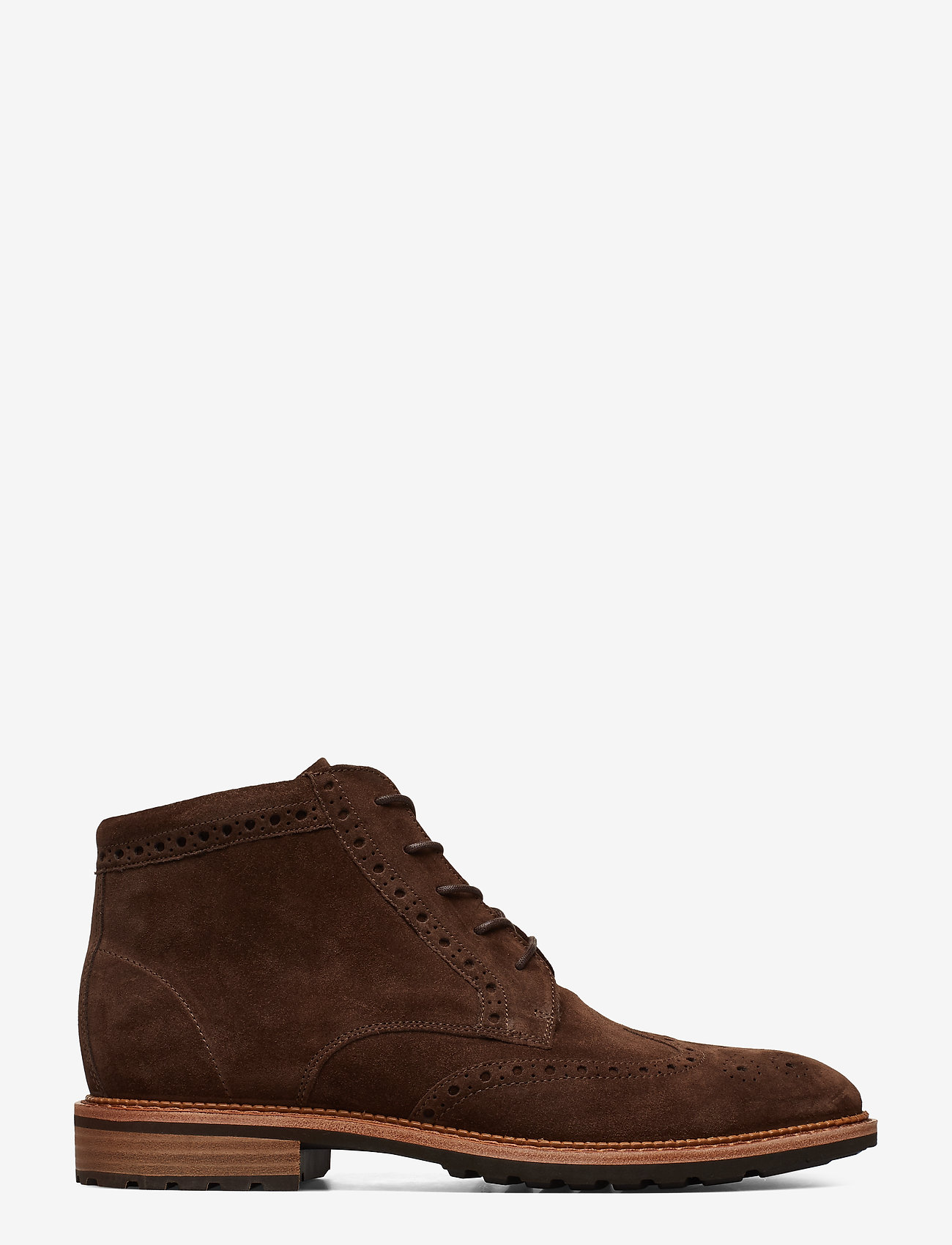 ECCO - VITRUS I - laced boots - coffee - 1