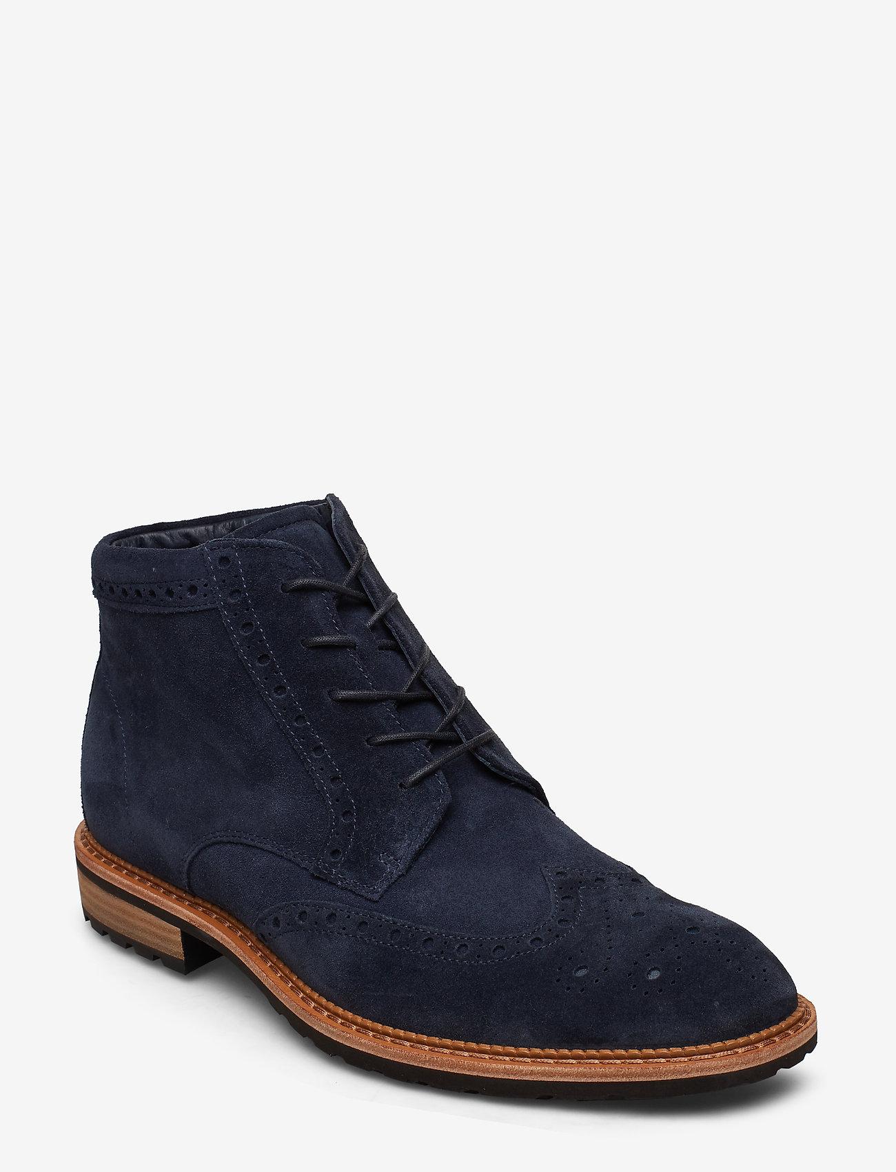 ECCO - VITRUS I - laced boots - navy - 0