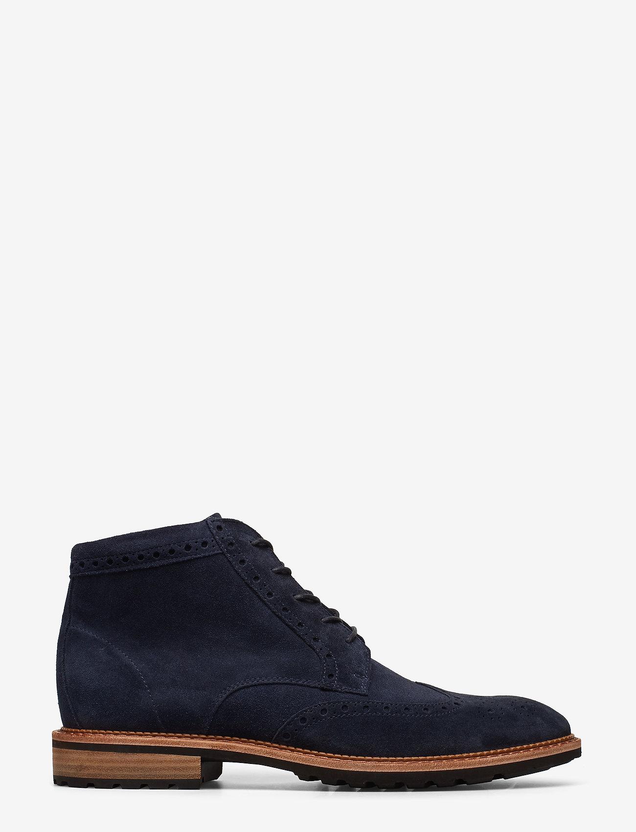 ECCO - VITRUS I - laced boots - navy - 1