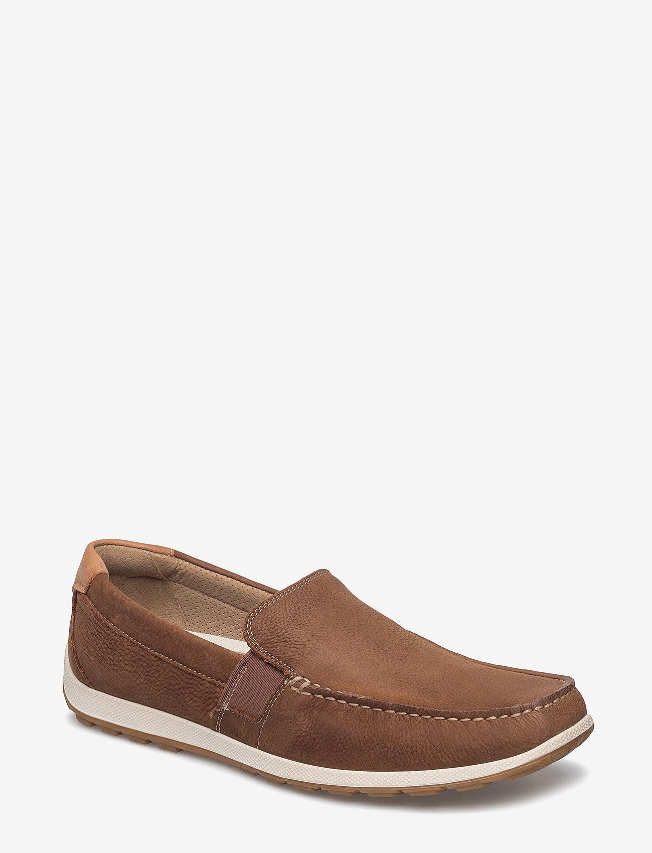 ECCO - RECIPRICO - loafers - mahogany - 0