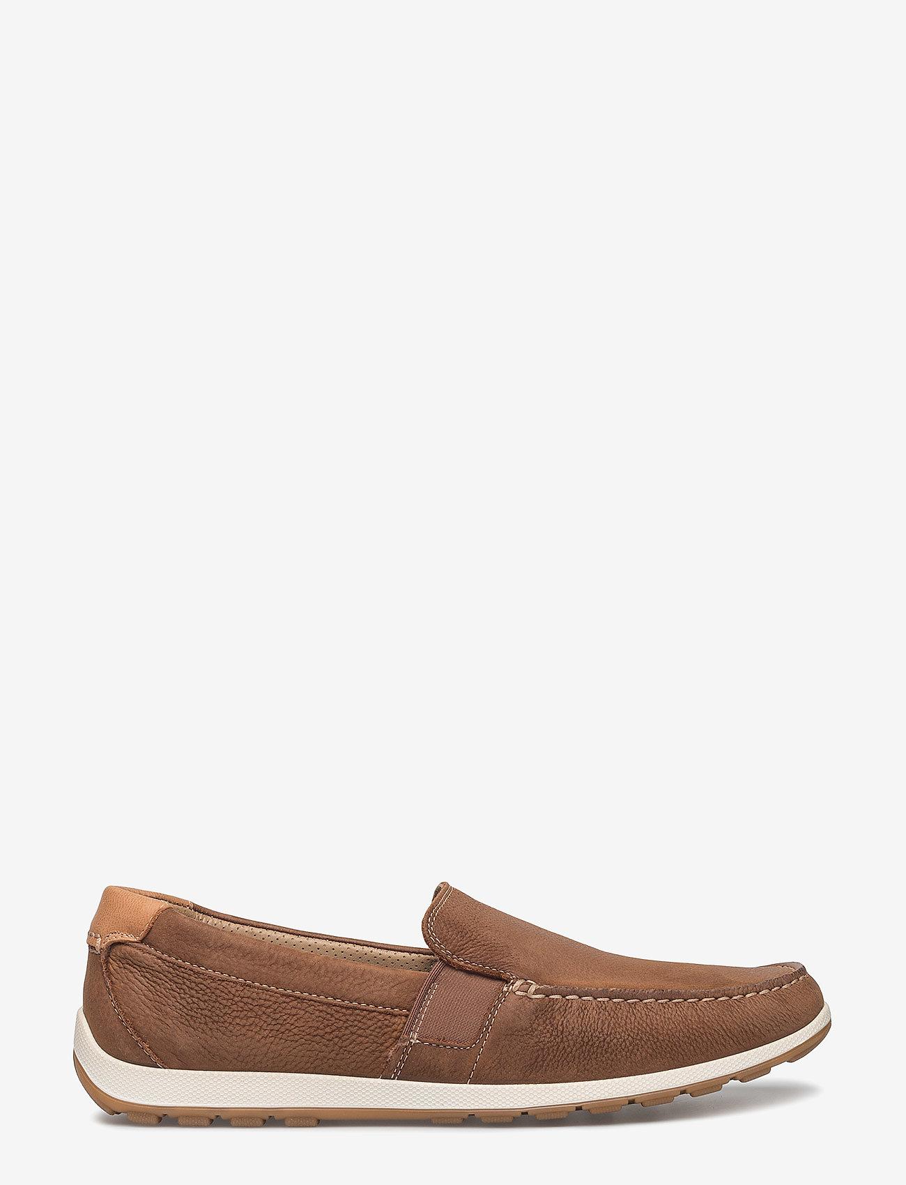 ECCO - RECIPRICO - loafers - mahogany - 1