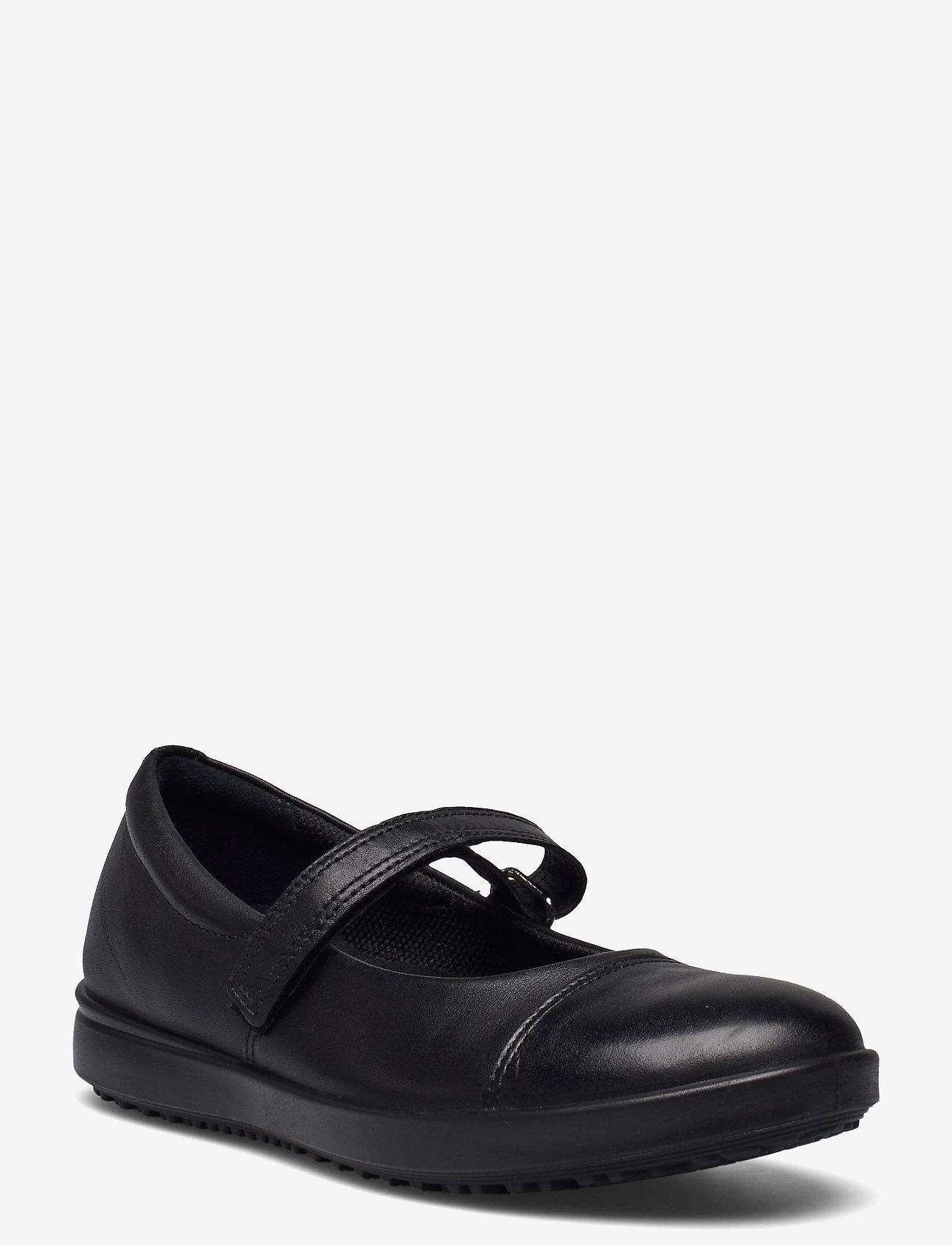 ECCO - ELLI - ballerinaer og slip-ons - black/black - 1