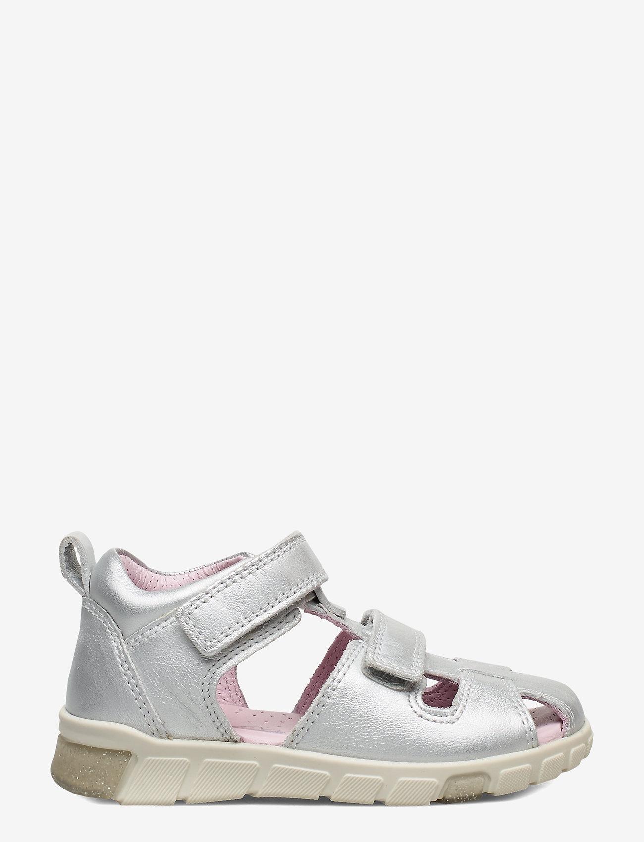 ECCO - MINI STRIDE SANDAL - sandals - silver metallic