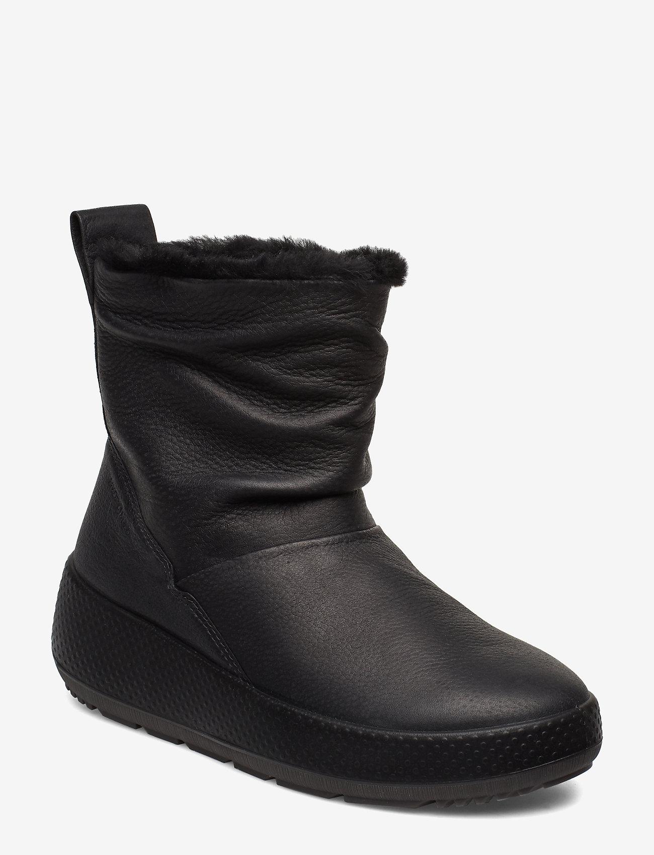 ECCO - UKIUK 2.0 - flat ankle boots - black - 1