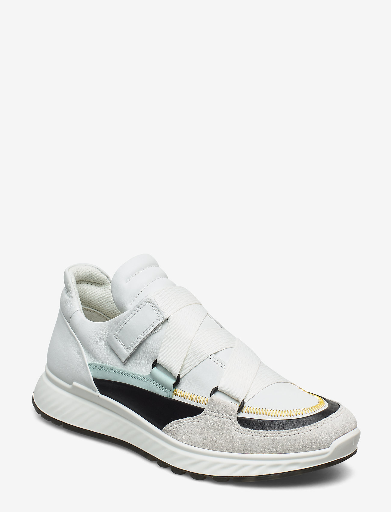 ECCO - ST.1 W - slip-on sneakers - shadow white/black/white/eggshell blue - 0