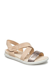 DAMARA SANDAL - WARM GREY/POWDER