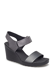 FREJA WEDGE SANDAL - DARK SHADOW/MAGNET