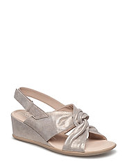 SHAPE 35 WEDGE SANDAL - MOON ROCK