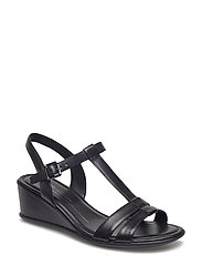 SHAPE 35 WEDGE SANDAL - BLACK/BLACK