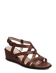 SHAPE 35 WEDGE SANDAL - CINNAMON