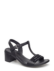 SHAPE 35 BLOCK SANDAL - BLACK
