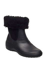 SOFT 7 WEDGE TRED - BLACK/BLACK
