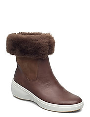 SOFT 7 WEDGE TRED - COCOA BROWN/COCOA BROWN