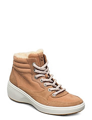 SOFT 7 WEDGE TRED - CASHMERE/CASHMERE/WHISKEY