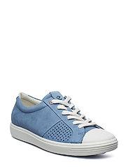 SOFT 7 W - WHITE/RETRO BLUE