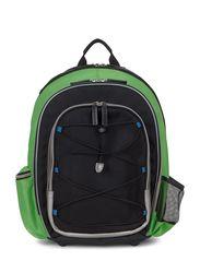 Back to School - BLACK/MEADOW GREEN