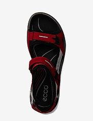 ECCO - OFFROAD - zempapēžu sandales - chili red/concrete/black - 2