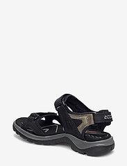 ECCO - OFFROAD - platte sandalen - black/mole/black - 1