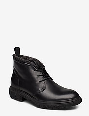 ECCO - CREPETRAY HYBRID M - laced boots - black - 0