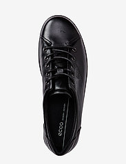 ECCO - SOFT 2.0 - low top sneakers - black with black sole - 2