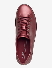 ECCO - SOFT 2.0 - låga sneakers - syrah metallic - 3