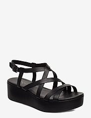 ECCO - ELEVATE PLATEAU SANDAL - flat sandals - black - 0