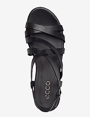 ECCO - ELEVATE PLATEAU SANDAL - flat sandals - black - 3