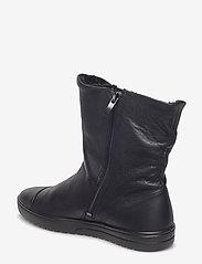 ECCO - FARA - flade ankelstøvler - black - 2
