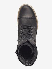 ECCO - ELAINE - flade ankelstøvler - black/black - 3