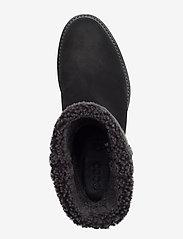 ECCO - SARTORELLE 25 - platte enkellaarsjes - black/black - 3