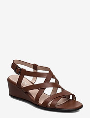 ECCO - SHAPE 35 WEDGE SANDAL - flat sandals - cinnamon - 0