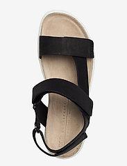ECCO - CORKSPHERE SANDAL - flat sandals - black - 3