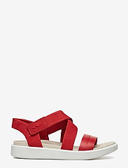 ECCO - FLOWT W - flat sandals - chili red/chili red - 1