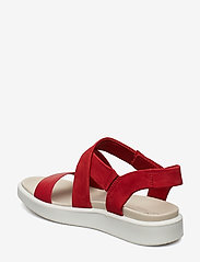 ECCO - FLOWT W - flat sandals - chili red/chili red - 2