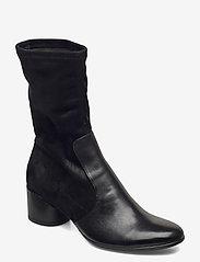 ECCO - SHAPE 35 MOD BLOCK - lange laarzen - black/black - 0