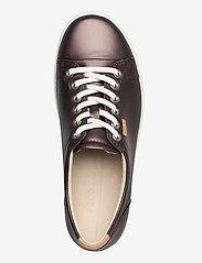 ECCO - SOFT 7 W - låga sneakers - shale metallic - 3