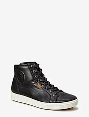 ECCO - SOFT 7 W - high top sneakers - black - 0