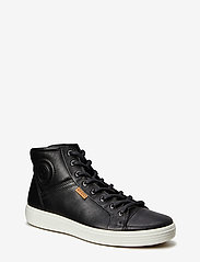 ECCO - SOFT 7 M - höga sneakers - black - 4