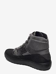 ECCO - SOFT 7 TRED M - laced boots - black/titanium - 2