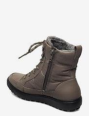 ECCO - SOFT 7 TRED W - flade ankelstøvler - dark clay/warm grey/warm grey - 2