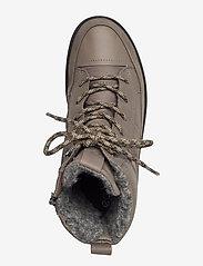 ECCO - SOFT 7 TRED W - flade ankelstøvler - dark clay/warm grey/warm grey - 3