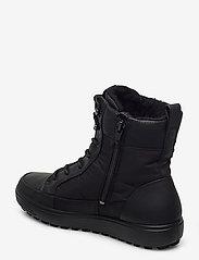 ECCO - SOFT 7 TRED W - flade ankelstøvler - black/black/black - 2