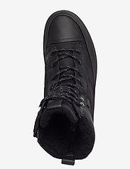 ECCO - SOFT 7 TRED W - flade ankelstøvler - black/black/black - 3