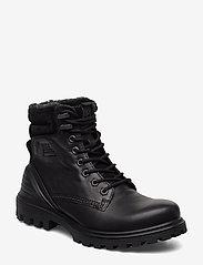 ECCO - TREDTRAY W - flade ankelstøvler - black/black - 0