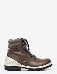ECCO - TREDTRAY W - flade ankelstøvler - warm grey/warm grey - 0