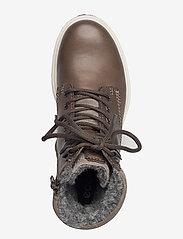 ECCO - TREDTRAY W - flade ankelstøvler - warm grey/warm grey - 3