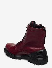 ECCO - TREDTRAY W - flat ankle boots - syrah - 2