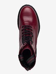 ECCO - TREDTRAY W - flat ankle boots - syrah - 3