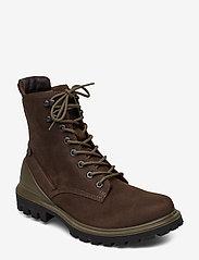 ECCO - TREDTRAY M - laced boots - coffee - 0